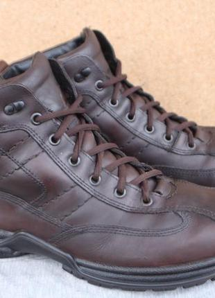 Зимние ботинки jomos кожа сделаны в германия 43р