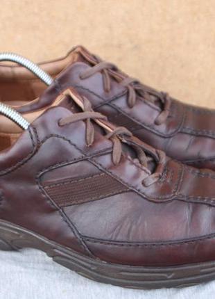 Полу ботинки clarks кожа англия 43р кроссовки туфли