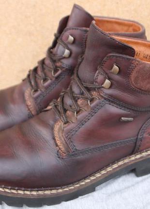 Зимние ботинки tamaris кожа германия 41р непромокаемые