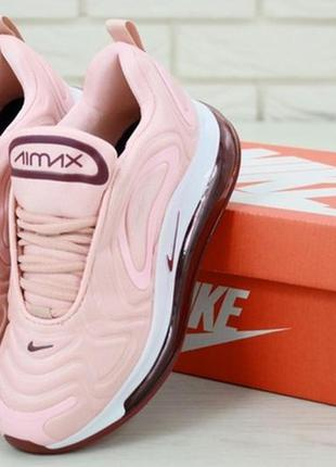 🍒nike air max 720 pink bordo🍒
