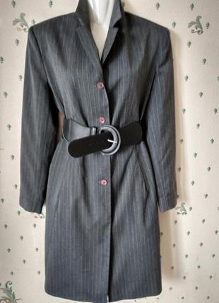 Clockhouse лёгкий жакет- платье серый р 10