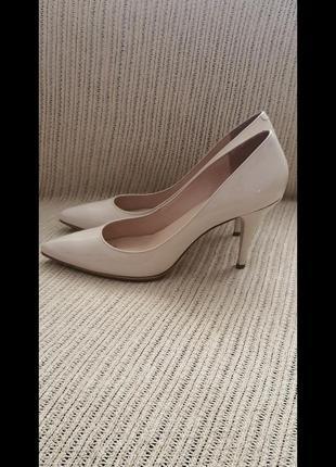 Talbots, туфли, молочного цвета, размер 40.5