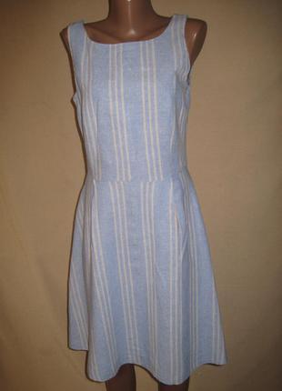 Льняное платье tu р-р8