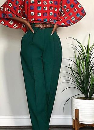 Bally шикарные шерстяные брюки с защипами бананы
