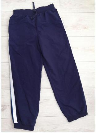 Спортивні штани, брюки, темно синие спортивные брюки.