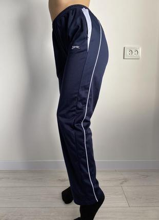 Спортивные брюки, синие штаны.