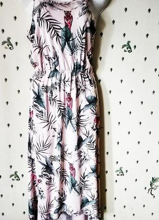 Трикотажное платье пастель лето р м италия