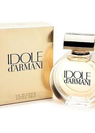 Женская парфюмированная вода 100 мл georgio armani idole