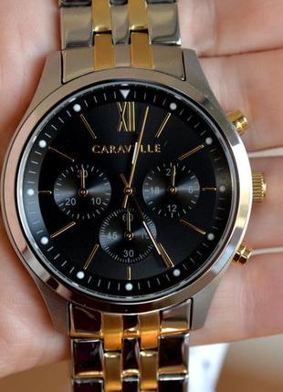 Подарок мужчине! часы-хронограф от bulova caravelle