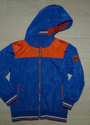Яркая ветровка, куртка george 4-5 лет