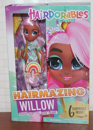 Кукла шарнирная Hairdorables Hairmazing Виллоу  Хэрдораблс Willow