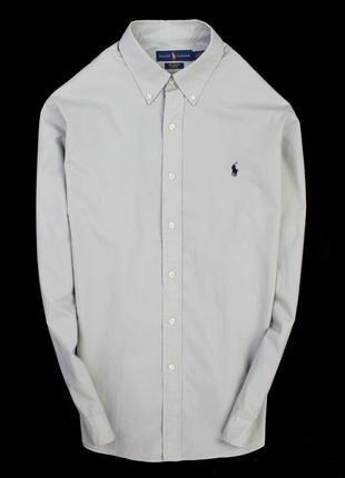 Стреичевая рубашка polo ralph lauren