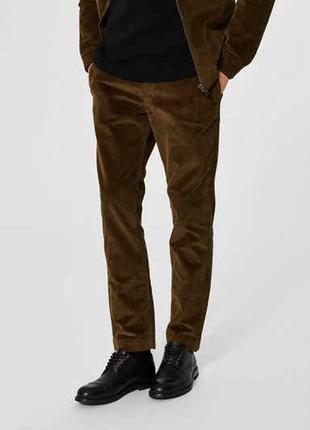 Вельветовые штаны брюки. gino sartore.
