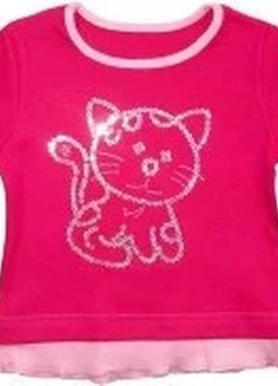 "Блуза для девочки ""котенок"""