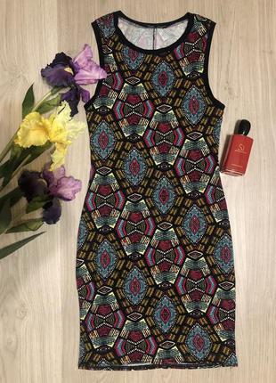 Платье миди / обтягивающее платье/ платье без рукавов от new look