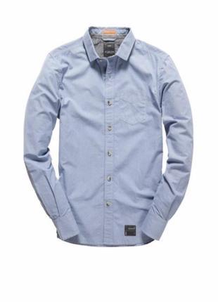 Рубашка superdry в мелкую полоску