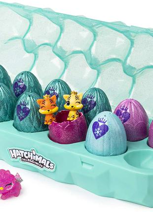 Лоток яиц Хэтчималс королевский набор Hatchimals с аксессуарами