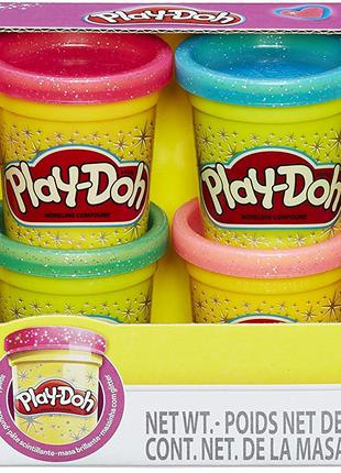 Набор пластилина плей до Play-Doh Sparkle Compound Collection
