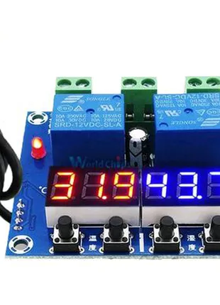 Xh-m452 термостат+гигростат 2в1 Управление влажностью+температура