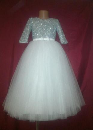 Дитяче плаття сніжинка