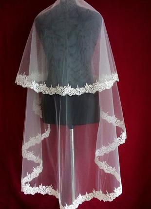 Свадебная фата 016