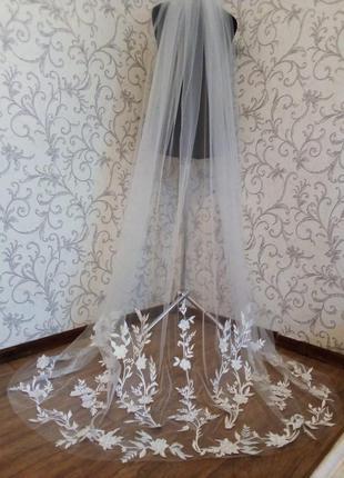 Свадебная фата 02