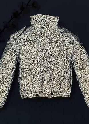 Куртка курточка плащевка с светоотражающими эфектом