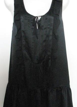 Супер  легкое платье класса  люкс черное
