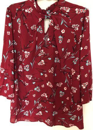Блуза из натуральной вискозы от Papaya (размер 14/16)
