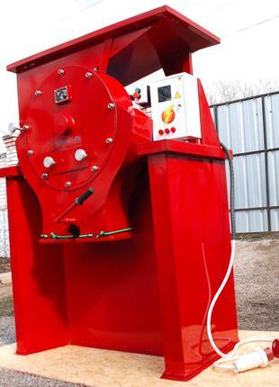 Зернодробилка ДКУ на 22 кВт до 3800 кг.час Кормоизмельчитель,Круп