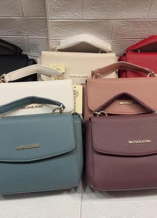 Женская сумка в стиле michael kors майкл корс цвета