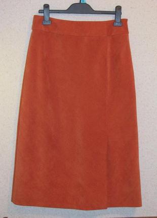 Бренд gerry weber юбка карандаш «пыльный кедр» р12 винтаж