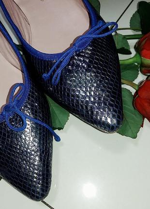 Остроносые балетки euforia bailarinas 39,5-40 размер.