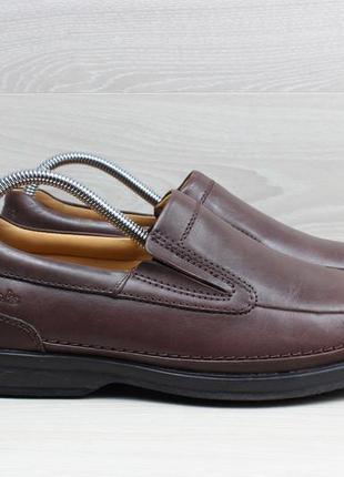 Мужские кожаные туфли / мокасины clarks active air оригинал, р...