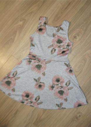 Платье трикотажное на 8-10лет