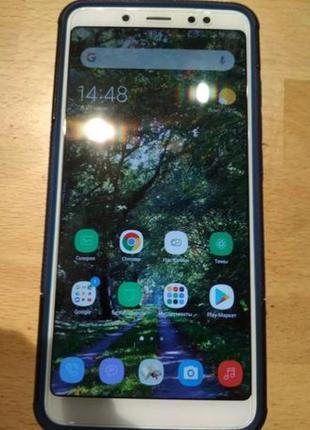 Redmi Note 5 4/64gb защитное стекло+ 2 чехла,+быстрая зарядка