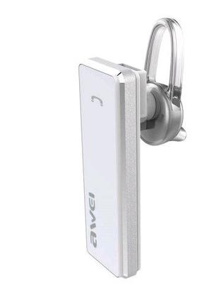 Bluetooth гарнитура Awei  БЕЛАЯ