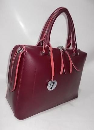 Женская кожаная сумка. жіноча шкіряна