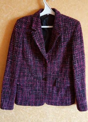 Модный буклированный пиджак - жакет/супер качество/низкая цена