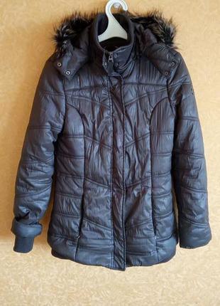 Шикарное зимние пальто пуховик куртка/супер скидки
