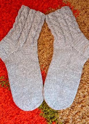 Нежнейшие тёплые, вязаные носки, идеальная работа