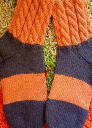 Зимние носки тапочки, теплые носки, очень красивые, ассортимен...