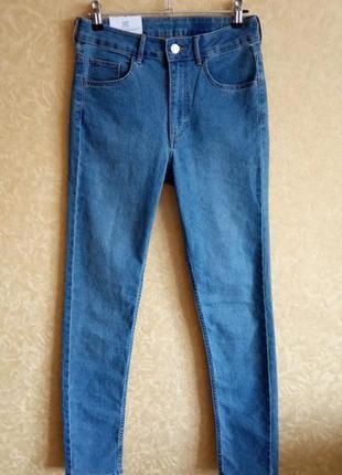 Крутые джинсы скинни, зауженные, высокая талия, супер цена, ск...