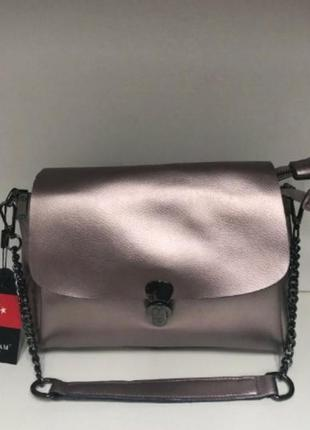 Женская кожаная сумка из натуральной кожи жіноча шкіряна