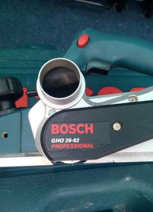 Рубанок електрорубанок Bosch Gho 26-82 Pofessional з англії