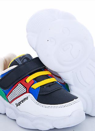 Детские стильные современные кроссовки, обувь для маленьких мо...