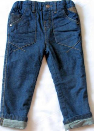 Беби клуб утепленные джинсы осень