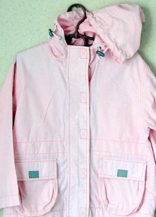 Детская ветровка розовая на 5 лет