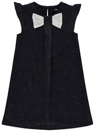 1,5-2 года, платье в блестки george.