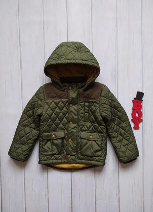 3-4 года, куртка - деми m&s.